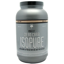 Nature's Best- Isopure, Zero Carb Cookies & Cream, 3lbs