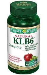 Nature's Bounty- KLB6, 100 softgels