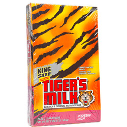 Tiger's Milk-King Size Protein Rich Bar (12 pack)