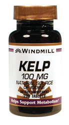 Windmill- Kelp, 100mg, 200 Tablets