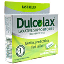 Laxative Relief Suppositories (4 count)