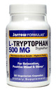 L-Tryptophan, 500mg, 60 capsules