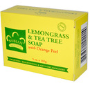 Nubian Heritage- Lemongrass & Tea Tree Soap, Orange Peel, 5oz, 141 grams