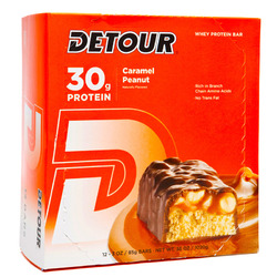 Detour- Lean Muscle Bar, Caramel Peanut (12 pack)
