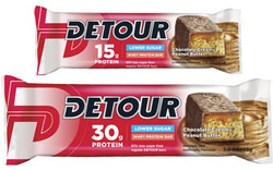 Detour-  Low Sugar, Chocolate Creamy Peanut Butter (12 pack)