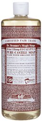 Dr Bronner's- Liquid Hemp Soap, Eucalyptus, 32oz