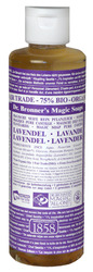 Dr Bronner's- Liquid Hemp Soap, Lavender, 8oz