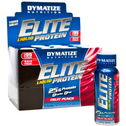 Dymatize- Liquid Protein, Fruit Punch, 2oz (12 pack)