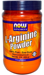 Now Foods- L-Arginine Powder, 1lbs