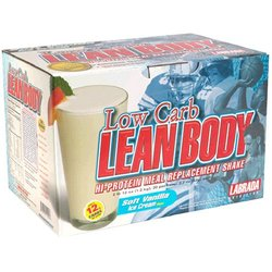 Labrada Nutrition- Lean Body Low Carb, Vanilla (42 pack)