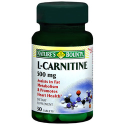 Nature's Bounty- L-Carnitine, 500mg, 30 tablets