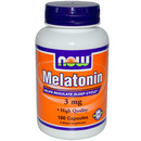 Melatonin, 3mg, 180 capsules