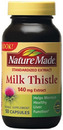 Milk Thistle Std Extract 140mg, 50 Capsules