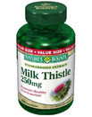 Nature's Bounty- Milk Thistle, 250mg, 200 capsules