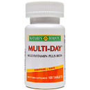 Multi Day + Iron tablets (One-A-Day Plus Iron), 100 tablets