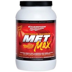 Champion Nutrition- Met-Max, Chocolate, 2lbs