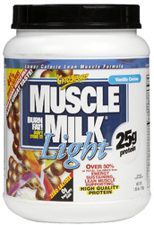 CytoSport- Muscle Milk, Light Vanilla Creme, 1.65lbs
