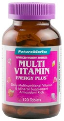 Futurebiotics- MultiVitamin Energy Plus For Women, 120 tablets