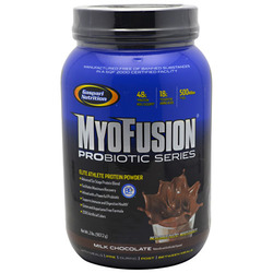 Gaspari- Myofusion Probiotic, Milk Chocolate, 2lbs