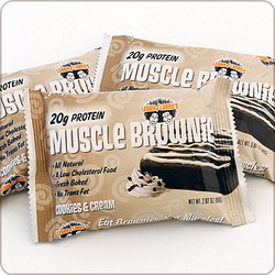 Lenny & Larry's- Muscle Building Protein Brownie, Cookies & Cream  (12 pack)