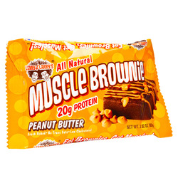 Lenny & Larry's- Muscle Building Protein Brownie, Peanut Butter (12 pack)