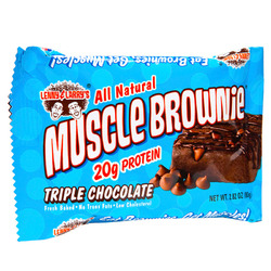Lenny & Larry's- Muscle Building Protein Brownie, Triple Chocolate (12 pack)