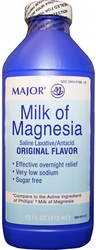 Major Pharmaceuticals- Milk Of Magnesia, 16floz Liquid