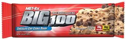 Met-Rx- Meal Replacement Bar Big 100, Chocolate Chip Cookie Dough (12 pack)