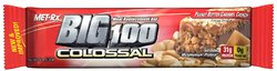 Met-Rx- Meal Replacement Bar Big 100 Colossal, Peanut Butter Caramel Crunch (12 pack)