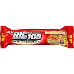 Met-Rx- Meal Replacement Bar Big 100 Colossal, Peanut Butter Pretzel (12 pack)