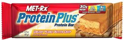 Met-Rx- Muscle Building Protein Plus Bar, Creamy Peanut Butter Crisp (12 pack)