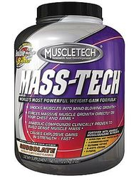 Muscletech- Mass Tech, Chocolate, 5lbs