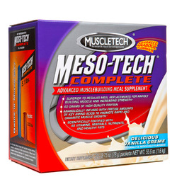 Muscletech- Meso-Tech, Vanilla (20 pack)