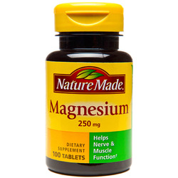 Nature Made- Magnesium Oxide 250mg, 100 Tablets