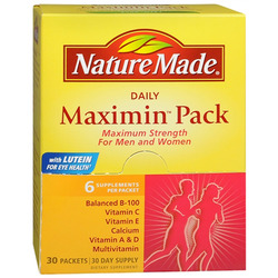 Nature Made- Maximin Pack, 30 Bags