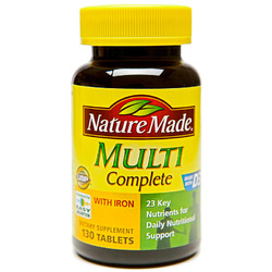 Nature Made- Multi Complete, 130 Tablets