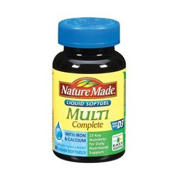 Nature Made- Multi-Complete, 60 Softgels