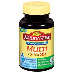 Nature Made- Multi For Her 50+, 60 Softgels