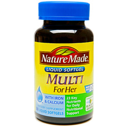 Nature Made- Multi For Her, 60 Softgels