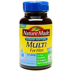Nature Made- Multi For Him, 60 Softgels
