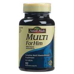 Nature Made- Multi Vitamin & Minerals For Men, 90 Tablets