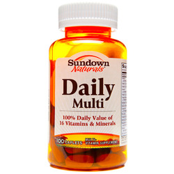 Nature's Bounty- Multi-Day Plus Minerals tablets (One-A-Day Maximum), 100 tablets
