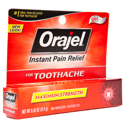 Orajel- Maximum Strength Oral Pain Reliever, .42oz