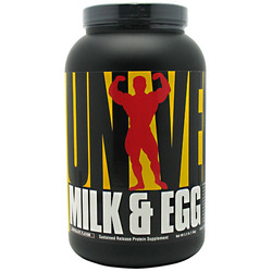 Universal Nutrition- Milk & Egg Protein, Chocolate, 3lbs