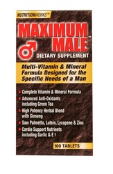 Windmill- Maximum Male, 100 Tablets