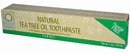 Natural Tea Tree Oil Toothpaste, Fennel, 6.25oz