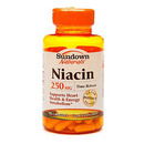 Niacin, 250mg Time Release, 90 capsules