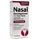 Nasal Spray .05% Oxymetazoline, 30ml Spray