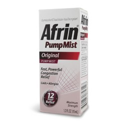 Afrin- Nasal Spray, .5oz