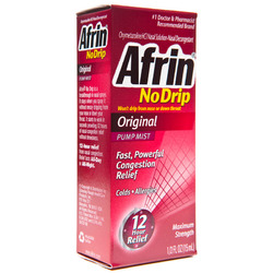 Afrin- Nasal Spray No Drip, .5oz
